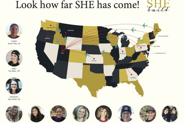 The House That SHE Built: Where are all these volunteers coming from?